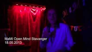Italo Disco New Generation Ric-o Renter live on stage in Stavanger (MaMi Open Mind)