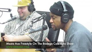 Masta Ace Freestyle On The Bodega Cold Kutz Show