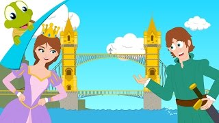 London Bridge is falling down - Nursery Rhyme for kids - kids song with lyrics