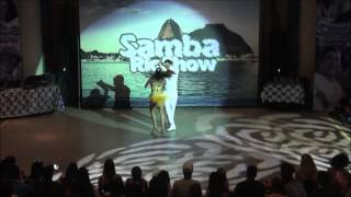 Samba Rio Show 2013 - Improviso Samba Funkeado - Talison Sodré e Gabrielle Araujo