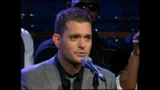 "Michael Buble w/Naturally 7 - ""Stardust"" on Ferguson 7/10 (TheAudioPerv.com)"
