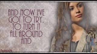 Demi Lovato - It's Not Too Late (Camp Rock 2) + Lyrics
