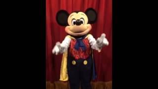 Mickey canta parabéns pra você Nick!!!! Feito com carinho pela Paloma 😃