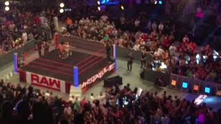 Crowd cam Dean Ambrose returns Raw 8/13/18