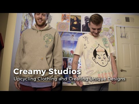 Stephen and Peter Barrett discuss their fashion brand, Creamy Studios, and show some designs from their collections.  Video by Ryan Grzybowski Edited by Riley Runnells  Visit our website: https://www.thepostathens.com/  Find us on social media: Instagram: https://www.instagram.com/thepostathens/ Twitter: https://twitter.com/ThePost Facebook: https://www.facebook.com/ThePostAthens Visit our website: https://www.thepostathens.com/