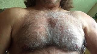 Randall Morris Hairy Chest Flex
