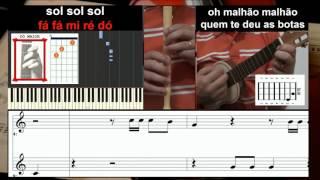 Malhao Musica Tradicional Portuguesa Educacao Musical Cavaquinho, Flauta, Guitarra