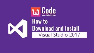 How to download and Install Visual Studio 2017 width=