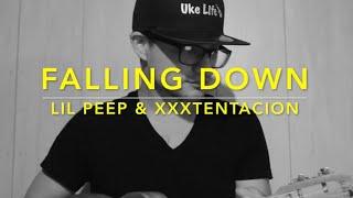 Falling Down - Lil Peep & XXXTentacion (Ukulele Cover) - Play Along
