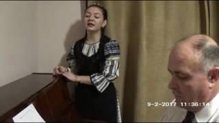 Andreea Lazea - Veniți români din lumea-ntreagă - prof. Adrian Bordeianu