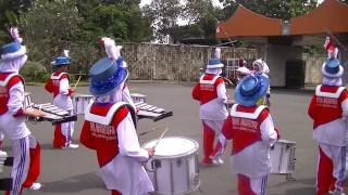The final countdown Drumband pp nurul mushtofa ciracas in TMII