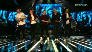One Direction - Live while we're young a X Factor 2012  in anteprima mondiale
