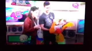 """Flor Almada en el último programa de """"los 15 Mejores"""" Qmusica"""