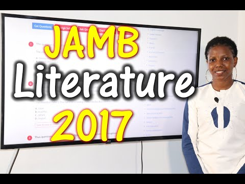 JAMB CBT Literature in English 2017 Past Questions 1 - 22