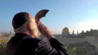 Jerusalem Shofar at Sunrise - Rosh Hashanah 2017