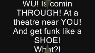 Wu-Tang Clan - Shame On A Nigga (lyrics)