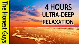 4 HOURS of ULTRA DEEP RELAXATION. Binaural Beat (432Hz Music) Theta Wave