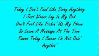 Bruno Mars - The Lazy Song [Lyrics]