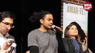 Braga TV - Jimmy P. sensibiliza jovens de Braga contra a Violência no Namoro