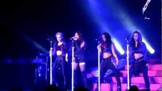 Little Mix Don't Let Go (En vogue cover) Manchester Apollo 6th Feb 2013