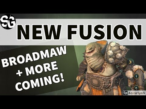 [RAID SHADOW LEGENDS] BROADMAW - NEW PERM FUSION & MORE FUSION NEWS!