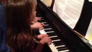 Look at the Witches piano duet by Elizabeth Greenleaf.