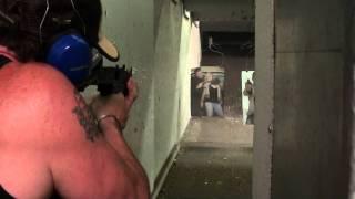 Dan Dares at the gun store in vegas oozie 9mm