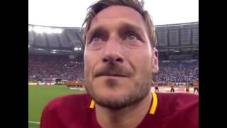 Last game of Legend Francesco Totti - Farwell| legend Masterl Last day football match From Roma