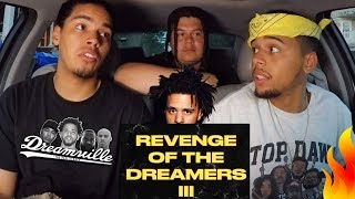 Dreamville & J. Cole - Revenge of the Dreamers III (FULL ALBUM) REACTION REVIEW