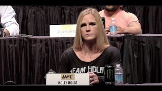 How Does Holly Holm Handle Everyone Writing Her Off Against Ronda Rousey?