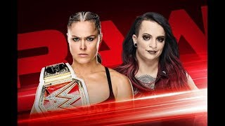 WWE RAW Results Highlights of this week Monday night Oct. 1, 2018 (description)