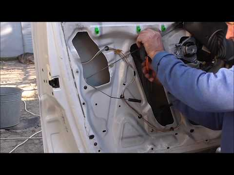 Ремонт стекло подъемника Peugeot Expert