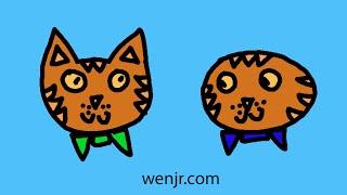 两只老虎 Two Tigers Mandarin Chinese Kids Song Pinyin/Characters/English