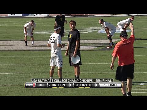 Video Thumbnail: 2014 College Championships, Men's Semifinal: Colorado vs. Oregon