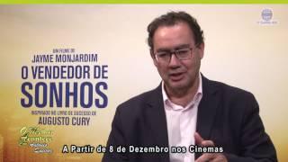 O Vendedor de Sonhos 08 de Dezembro nos Cinemas - Augusto Cury - TV Guarulhos - Guarulhos Empresas