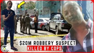 Suspect in fatal $20M Mobay R0BBERY taken out by Cops