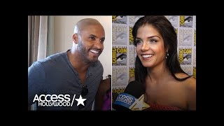 'The 100's' Marie Avgeropoulos & Ricky Whittle's SDCC Reunion | Access Hollywood