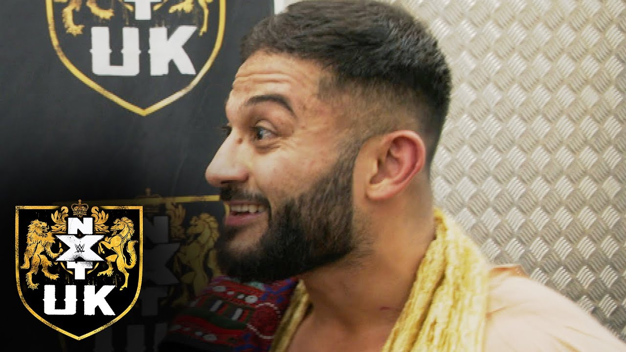 WWE - Amir Jordan is riding high after victory: NXT UK Exclusive, Jan. 21, 2021