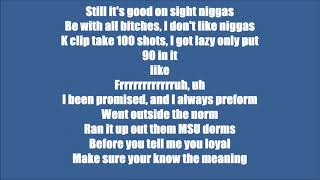 Tee Grizzley Second Day Out (Lyrics)