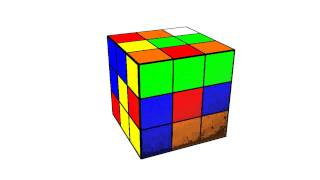 2D or 3D Rubik's Cube?