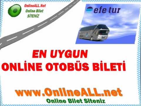 Efe Tur Otobüs Bilet Fiyatları -İnternetten Bilet Al OnlineALL.net-Online Otobüs Biletleri