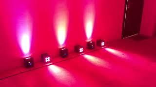 WIFI Wireless Dmx Battery Power Uplight Willedlight