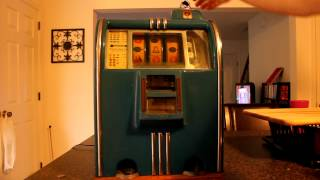 Caille Doughboy 5cent Slot Machine