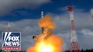 Russia test-launches 'Satan 2' nuclear missile