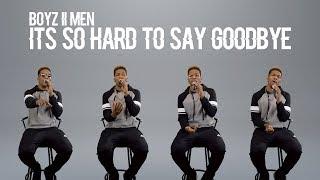 Boyz II Men - It's So Hard To Say Goodbye To Yesterday (@DesmondMDennis Cover)