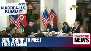 Kim and Trump to have their first Hanoi meeting in a moment