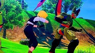 Cell Eats Android 18 Scene   Dragon Ball Z Kakarot