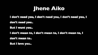 "Don't Need You (From Jhene Aiko's ""The Worst"")"