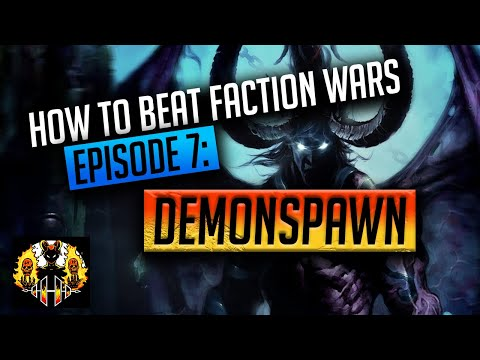 RAID: Shadow Legends | How to Beat Faction Wars, Episode 7: DEMONSPAWN! Where are the healers?