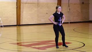 "Tap Dance Routine (Solo): ""Star Spangled Banner"" Acapella"